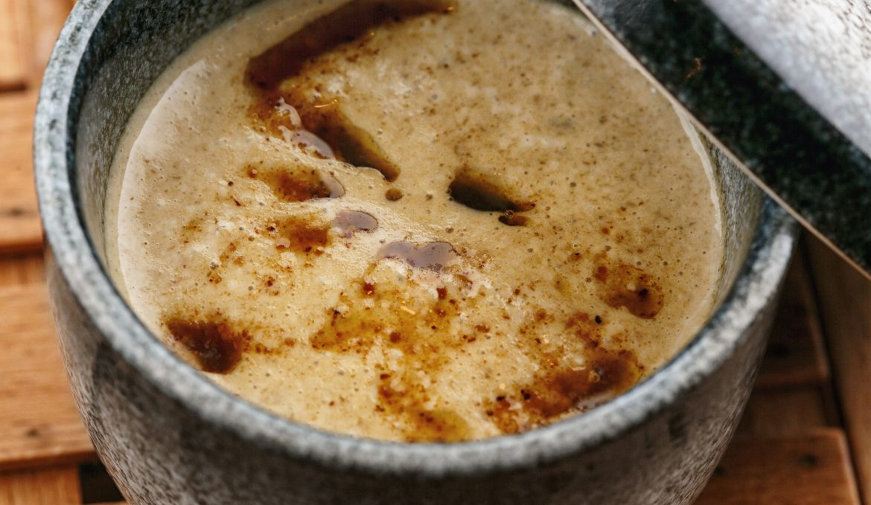 Крем - суп из лесных грибов