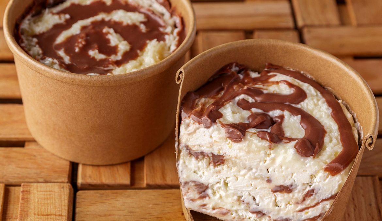 Домашнее мороженое Баунти
