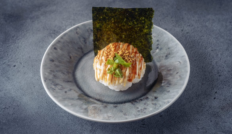 Темари суши с креветкой