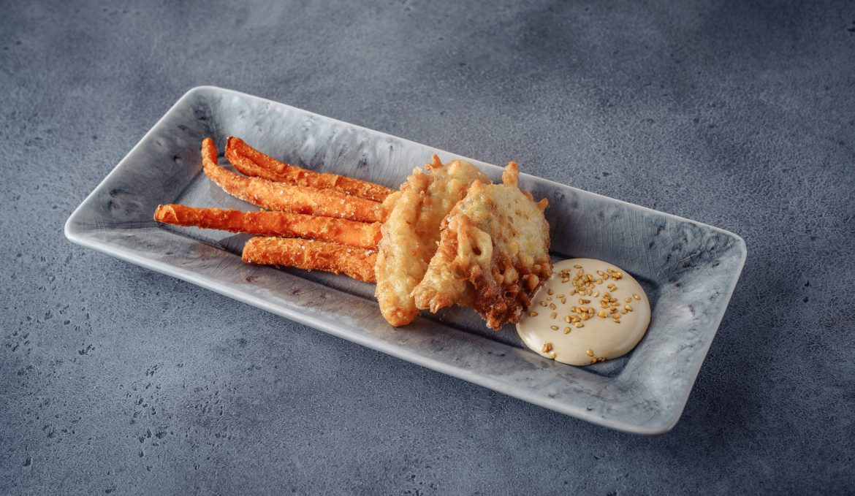 Fish & Chips из речного угря