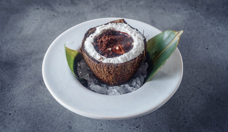 Кокосовый крем с лимонником и маракуйей